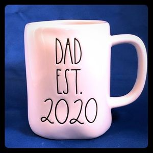 "Rae Dunn ""DAD EST. 2020"" mug. Great gift"